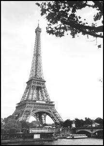 The Eiffel Tower Plakat