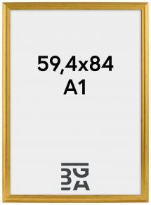 Ramme Vestkysten Guld 59,4x84 cm (A1)