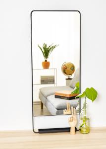 Spejl House Doctor Chic Sort 45x110 cm