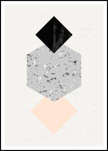 Abstract Geometry I Plakat
