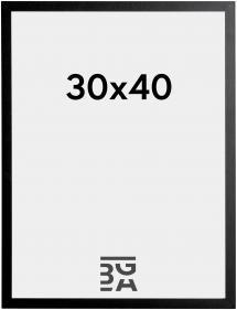Ramme Trendy Sort 30x40 cm