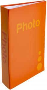 ZEP Fotoalbum Orange - 402 Billeder i 11x15 cm