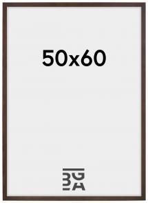 Stilren Billedramme Valnød 50x60 cm