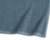 Badehåndklæde Stripe Frotté - Blå 65x130 cm
