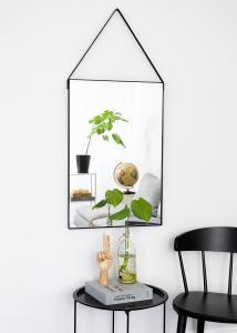 Spejl Naima Sort 51x76 cm