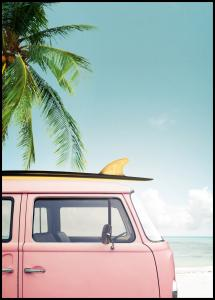 Leisure Trip - Pink Plakat