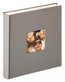 Fun Design Grå - 30x30 cm (100 Hvide sider / 50 blade)
