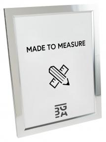 Åsarna Blank Sølv - Valgfri Størrelse