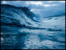 Bølger - Plakat
