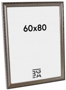 Abisko Sølv 60x80 cm