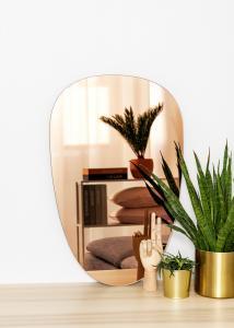 KAILA Spejl Shape II Rose Gold 45x70 cm
