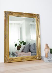 Spejl Antique Guld 50x70 cm