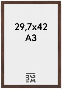 Stilren Billedramme Valnød 29,7x42 cm (A3)