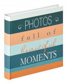 Moments Photos - 30x31 cm (100 Hvide sider / 50 blade)