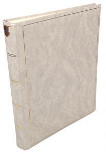 Henzo Basic Line Fotoalbum Hvid - 30x36 cm (80 Hvide sider / 40 blade)