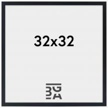 Ramme Edsbyn Sort 32x32 cm