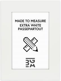 Passepartout Superhvid (Hvid kerne) - Bestilt efter mål