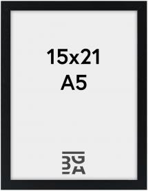Galant Sort 15x21 cm (A5)