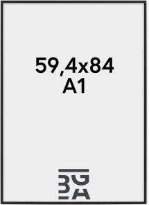 Ramme Nielsen Premium Classic Mat Sort 59,4x84 cm (A1)