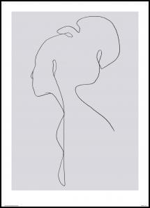 Female lines III Plakat