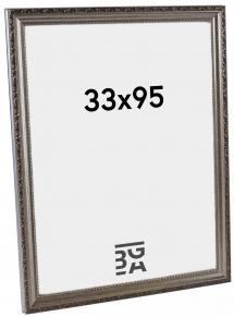 Abisko Sølv 33x95 cm