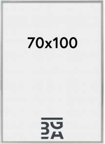 Nielsen Premium Alpha ramme Blank Sølv 70x100 cm