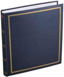 Diamant Fotoalbum Blå 27,5x32 cm (100 Hvide sider / 50 Blade)