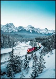Winter Train Plakat