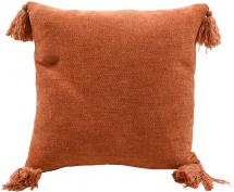 Pudebetræk Tassle - Orange 45x45 cm