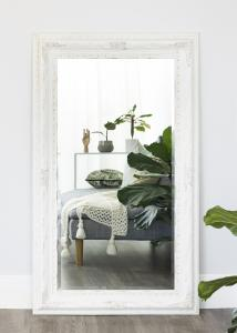 Spejl Palermo Hvid 66x126 cm