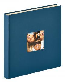 Fun Selvhæftende Blå - 33x34 cm (50 Hvide sider / 25 blade)