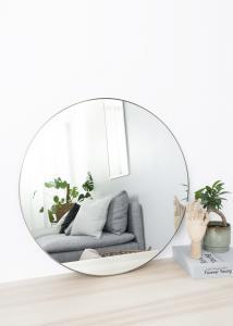 Spejl Antikmessing 70 cm ø