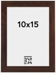 Stilren Billedramme Valnød 10x15 cm