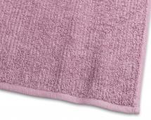 Badehåndklæde Stripe Frotté - Lyserød 65x130 cm