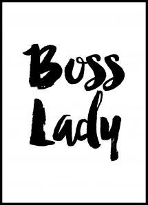 Boss Lady Plakat