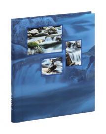 Singo Album Selvhæftende Blå (20 Hvide sider / 10 blade)