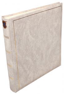 Henzo Basic Line Fotoalbum Hvid - 28x30 cm (70 Hvide sider / 35 blade)