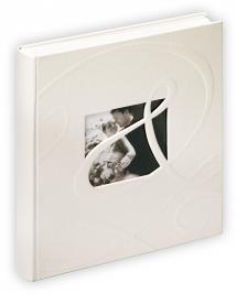 Ti Amo Album - 28x30,5 cm (60 Hvide sider / 30 blade)