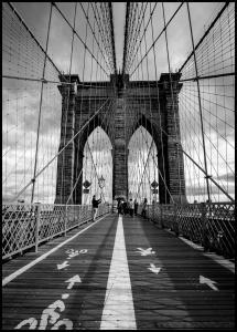 Brooklyn Bridge Plakat