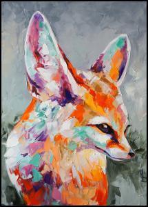 Fox Painting Plakat
