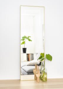 Spejl Narrow Guld 40x120 cm