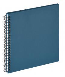 Fun Spiralalbum Blå - 30x30 cm (50 Hvide sider / 25 blade)