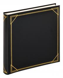 Kvadrat Sort - 30x30 cm (100 Hvide sider / 50 blade)