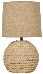Bordlampe Sisal - Naturhvid