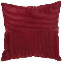 Pudebetræk Isac - Rød 50x50 cm