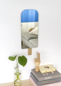 Spejl EO Ice Cream Ocean Blue 22x57 cm