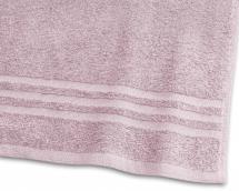 Badehåndklæde Basic Frotté - Lyserød 65x130 cm