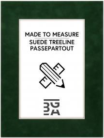 Passepartout Suede Treeline - Bestilt efter mål