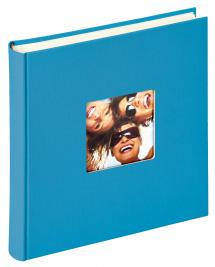 Fun Album Havsblå - 30x30 cm (100 Hvide sider / 50 blade)