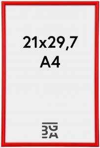 Galeria Billedramme rød 21x29,7 cm (A4)